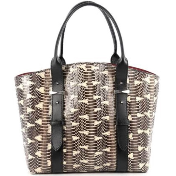 Alexander McQueen Legend Python Tote Free Shipping For Sale Cheap Sale Order Buy Cheap Huge Surprise Countdown Package mu9eb
